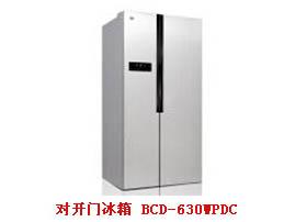 对开门冰箱BCD-630WPDC