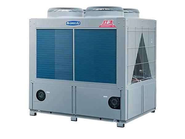紅冰空氣能地暖(熱水)機組